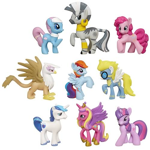 My Little Pony Friendship Is Magic Minis Wave 2