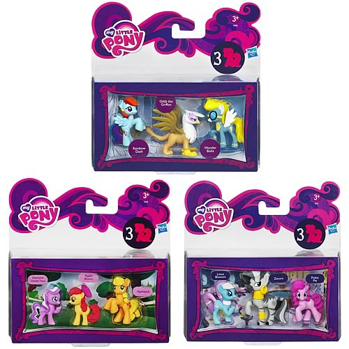 My Little Pony Friendship Is Magic Minis Wave 3 Revision 1