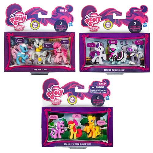 My Little Pony Friendship Is Magic Minis Wave 3