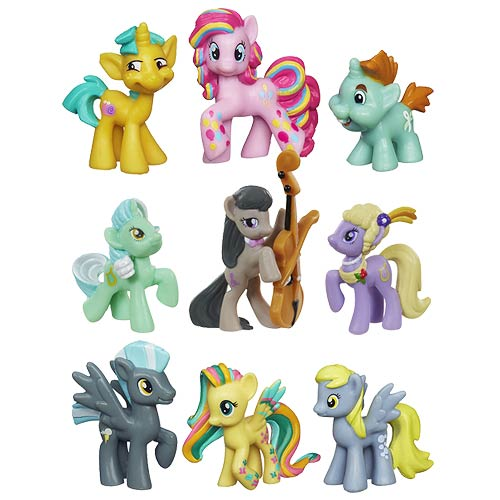 My Little Pony Friendship Is Magic Minis Wave 6