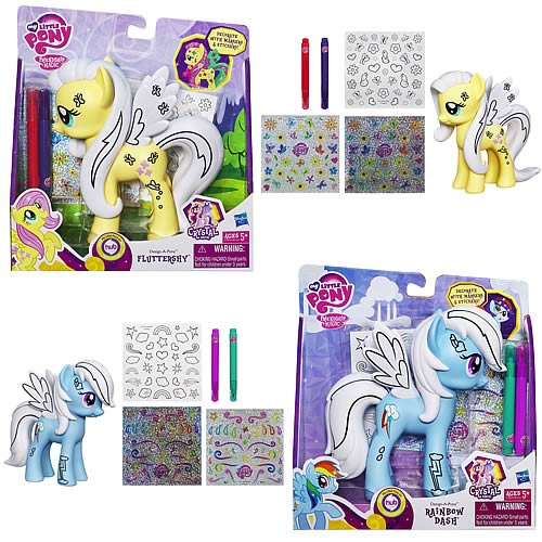 My Little Pony Crystal Design-A-Pony Wave 1 Set