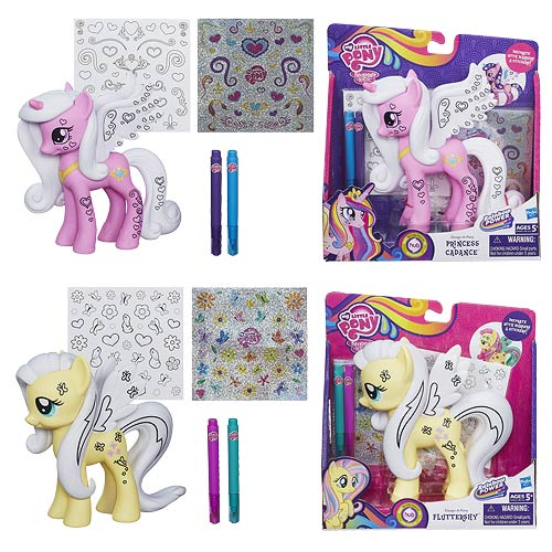 My Little Pony Crystal Design-A-Pony Wave 3 Set