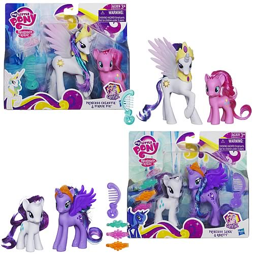 My Little Pony Princess Packs Wave 1 Set