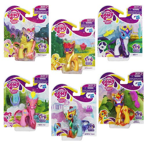 My Little Pony 2013 Crystal Ponies Wave 4 Set