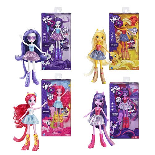 My Little Pony Equestria Girls Dolls Wave 1 Set
