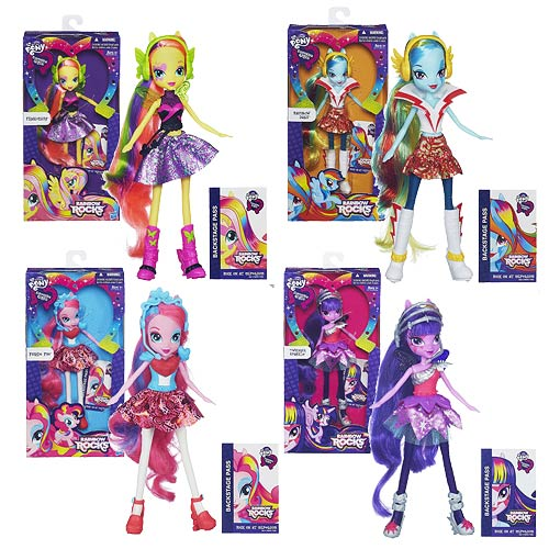 My Little Pony Equestria Girls Dolls Wave 3