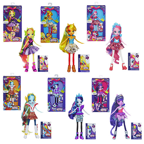 My Little Pony Equestria Girls Dolls Wave 4