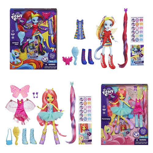 My Little Pony Equestrial Girls Dolls & Accessories Wave 1