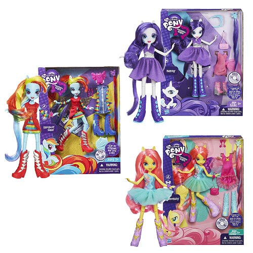 My Little Pony Equestria Girls Dolls & Accessories Wave 2