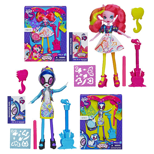 My Little Pony Equestria Girls Dolls Accessories Wave 4 Set