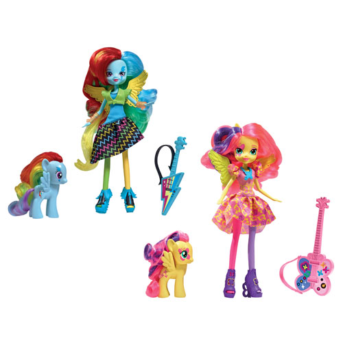 My Little Pony Equestria Girls Doll with Pony Wave 2 Rev. 1
