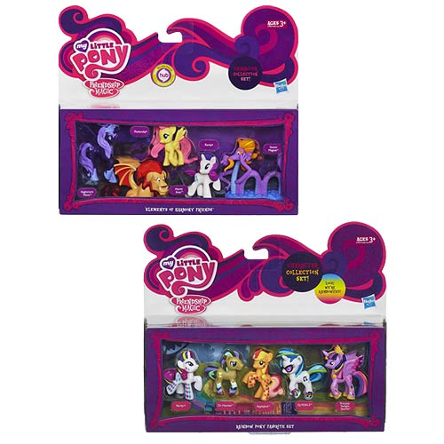 My Little Pony Friendship Is Magic Mini-Figure Sets Set