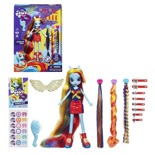 My Little Pony Equestria Girl Radical Hair Rainbow Dash Doll