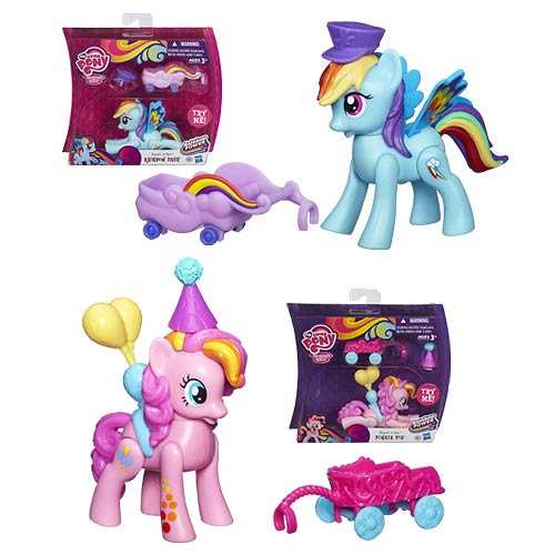 My Little Pony Friendship Is Magic Zoom N Go Wave 1 Set