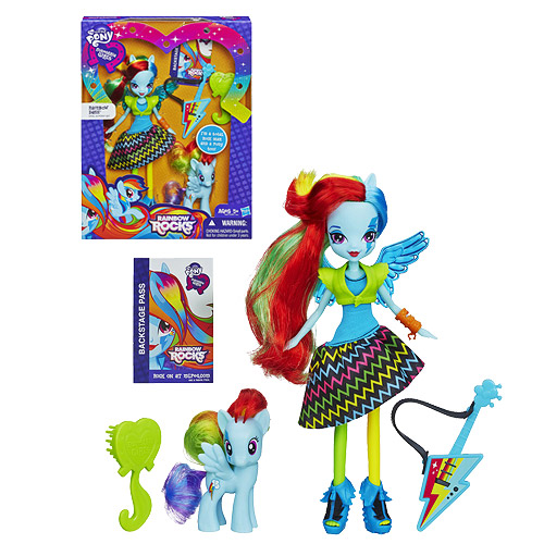 My Little Pony Equestria Girls Doll with Pony Rainbow Dash