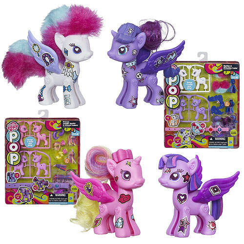 My Little Pony Pop Deluxe Multi Packs Wave 1 Set