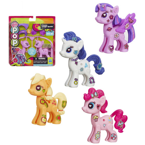 My Little Pony Pop Customizable Basic Ponies Wave 1