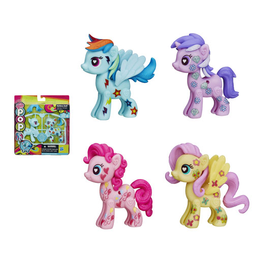 My Little Pony Pop Customizable Basic Ponies Wave 3