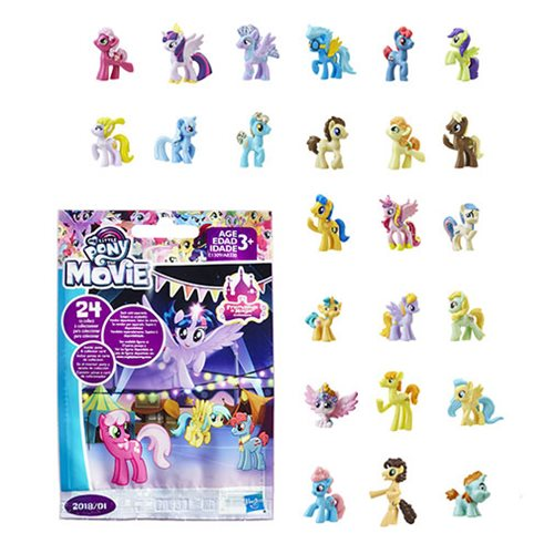 My Little Pony The Movie Blind Bag 2018 01 6 Pack Hasbro