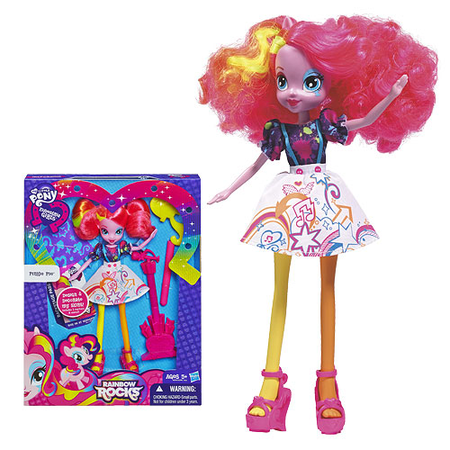 My Little Pony Pinkie Pie Doll with Doodle Skirt
