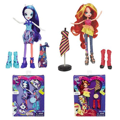 My Little Pony Equestria Girls Rainbow Rocks Dolls Wave 1