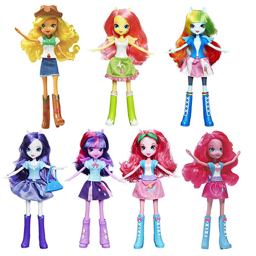 My Little Pony Equestria Girls Everyday Dolls Wave 1