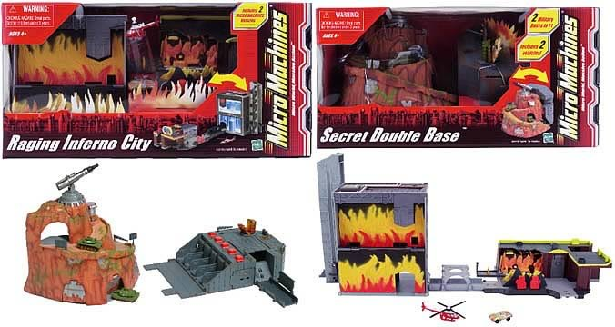 Inferno City & Secret Base Set