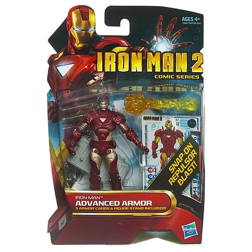 Iron Man Advanced Armor Comic Book Action Figure