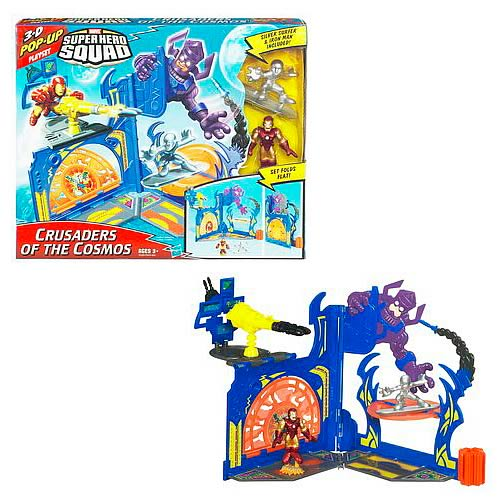 Superhero Squad Cosmic Playset with Figures