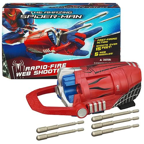 Amazing Spider-Man Rapid-Fire Web Shooter