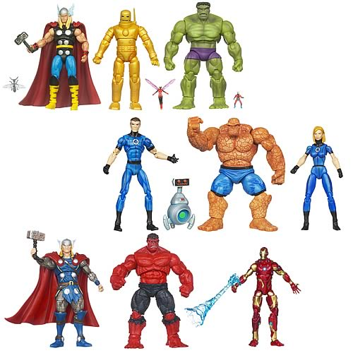 Marvel Universe Super Hero Team Action Figure Packs Wave 4