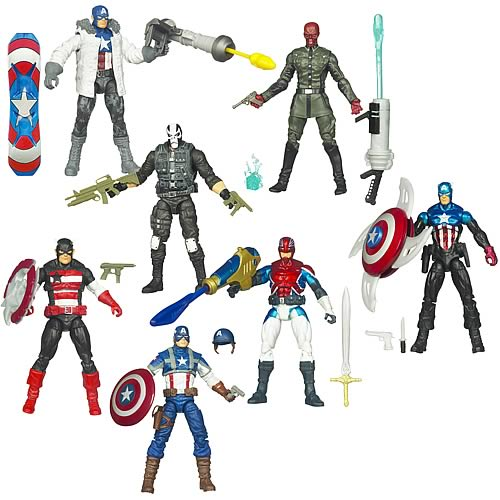 Captain America Movie Action Figures Wave 2