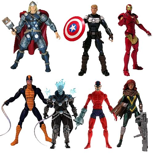 Marvel Legends Action Figures 2012 Wave 1