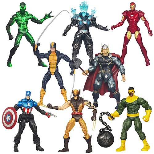 Marvel Legends Action Figures 2012 Wave 3 Revision 1