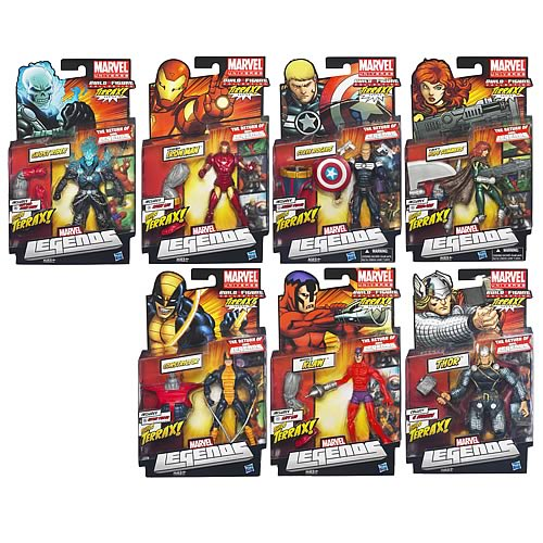 Marvel Legends Action Figures 2012 Wave 3 Revision 2