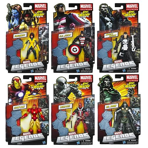 Marvel Legends Action Figures 2012 Wave 3