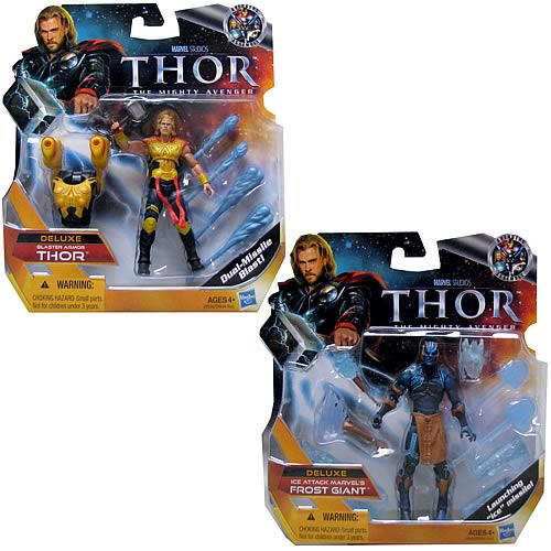 Thor Movie Deluxe Action Figures Wave 1 Set