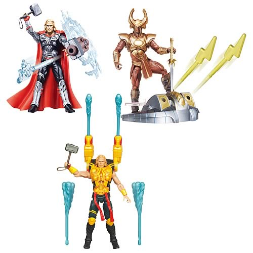 Thor Movie Deluxe Action Figures Wave 2