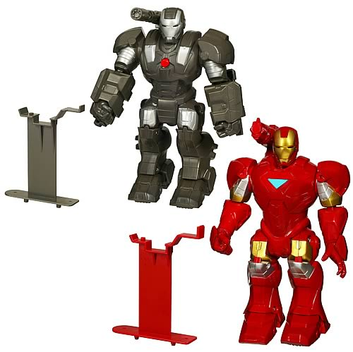 Iron Man Armor Chargers Robot Action Figures Wave 1