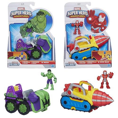 Marvel Super Hero Adventures Vehicles Wave 3 Set
