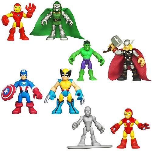 Marvel Super Hero Adventures Figure 2-Packs Wave 2 Rev. 1