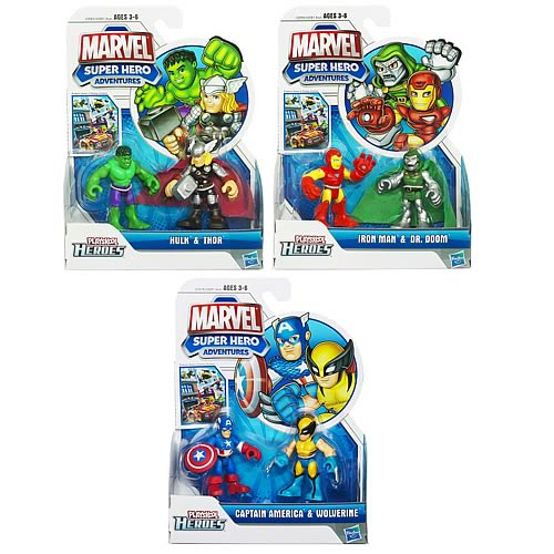 Marvel Super Hero Adventures Figure 2-Packs Wave 2 Rev. 2