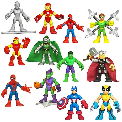 Marvel Super Hero Adventures Figure 2-Packs Wave 2