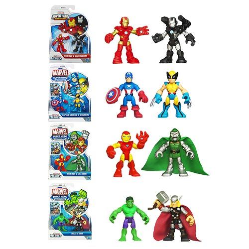 Marvel Super Hero Adventures Figure 2-Packs Wave 3