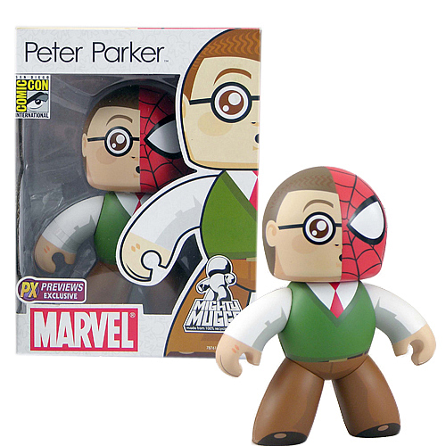 SDCC Exclusive Peter Parker Mighty Muggs Figure