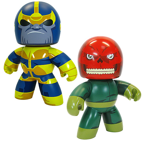 Marvel Mighty Muggs Thanos & Red Skull Figure Set Exclusive