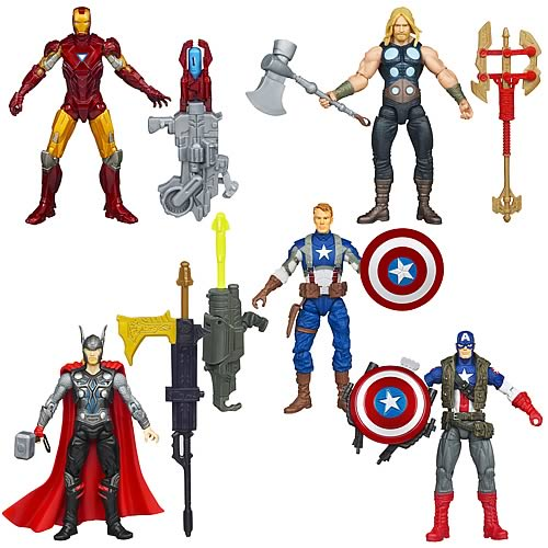 Avengers Movie Action Figures Wave 1