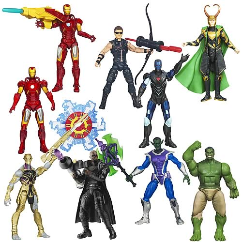 Avengers Movie Action Figures Wave 4 Revision 2
