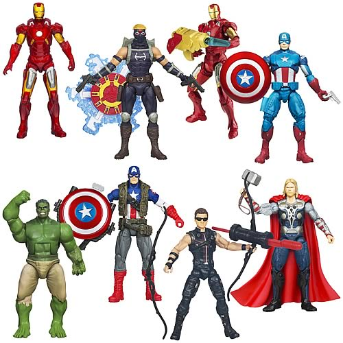 Avengers Movie Action Figures Wave 4 Revision 3