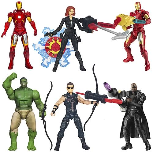 Avengers Movie Action Figures Wave 4